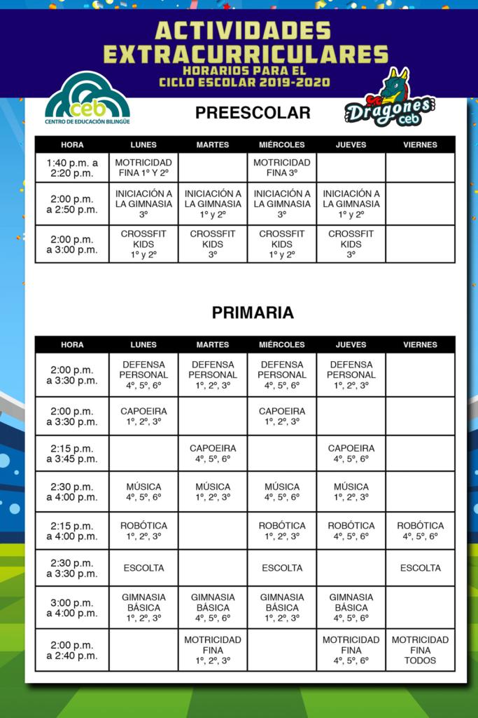 horarios-extracurriculares-19-20